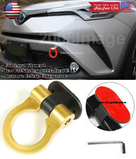 Gold Plastic Tape on Adjustable Decoration Tow Hook Ring For Ford Chevy Dodge
