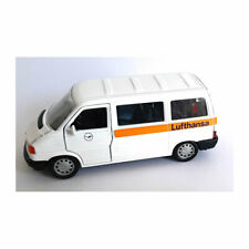 "Schabak 14675 VW T4 Caravelle "" Lufthansa "" White Scale 1:43 Model Car New !°"