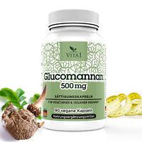 Glucomannan Abnehmen 3000Mg Pro Tagesdosis VegN-Kapseln Sättigungskapseln