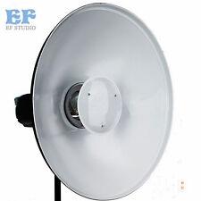 42cm Beauty Dish Studio White Reflector Radar Bowens Mount for Flash Strobe