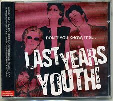 V/A - Don't You Know, It's... Last Years Youth CD JAPAN RELEASE UK Punk Powerpop