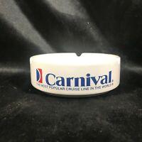 "Carnival Cruise Lines Ceramic 4-3/4"" Ashtray"