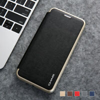 For Samsung Galaxy S10e S10+ Magnetic Wallet Case Stand Leather Slim Flip Cover