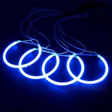 BMW E38 E39 E46 3/5/7 Series  4*131MM Angel Eye Kit CCFL Halo Rings Blue Light