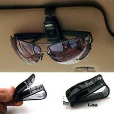 JP_ Black Auto Car Vehicle Visor Glasses Sunglasses Ticket Card Holder Clip Se