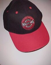 Nashville Country Music Hall of Fame and Museum Red Black Baseball Cap One Size