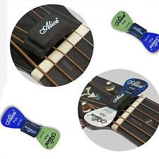 Sale! Musical Guitar Rubber Headstock Pick Plectrum Holder + 2 FREE Pick Gift