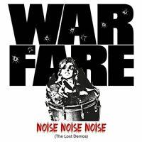 WARFARE - NOISE NOISE NOISE (THE LOST DEMOS)  CD NEW