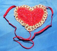 Women's Red Heart Panties/G-String