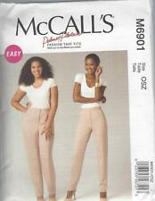 McCALL'S SEWING PATTERN MISSES' / WOMEN'S TAPERED PANTS TROUSERS 8 - 24W M6901