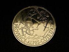 TRES  BELLE PIECE DE  10 EUROS DES REGONS 2010  PROVENCE ALPES COTE D'AZUR