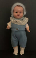 "Antique 11"" Composition Boy Blue Doll Signed Germany"