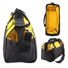 16 inch Tool Bag Hard Bottom Heavy Duty Toolbag With Pockets For Tool Storage