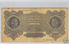 POLOGNE 10 000 MAREK 11.3.1922 N° E 3030474 PICK 32
