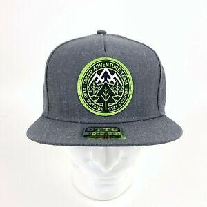 Mountain Biking Snap Back Hat Tasco MTB Adventrue Team Play Outside Stay Outside
