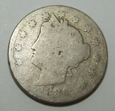 "1886 - Liberty ""V"" Nickel - 5¢"