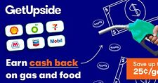 Get Cashback On Gas Purchases With GetUpSide App!