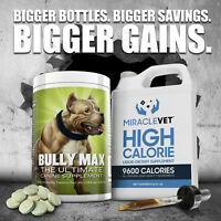 Bully Max (365 tabs) & Miracle Vet (1/2 gallon) Combo Pack. BEST SAVINGS ON EBAY