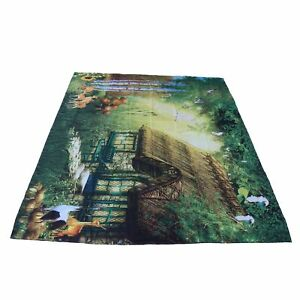 200cmx150cm Fairy Tale Forest Tapestry Wall Hanging Mat Carpet For Room Decor A