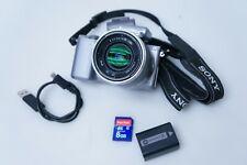 Sony Alpha NEX-5R 16.1MP Digital Camera - Silver (Kit w/ E OSS 18-55mm Lens)