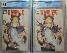 Strange Academy #1 2 Copies CGC 9.8 Peach Momoko Trade Variant