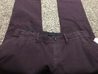 NWT CULT OF INDIVIDUALITY REBEL STRAIGHT JAPANESE DENIM MEN'S JEANS SIZE 34