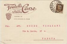 OMEGNA - FRATELLI CANE (VERBANIA) 1933
