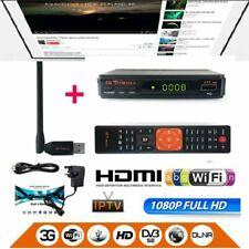 TV Récepteur Satellite Media V7S Antenne WIFI FREESAT FULL HD 1080p DVB-S2