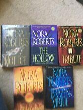 Lot Of Five Hardback Nora Roberts Books