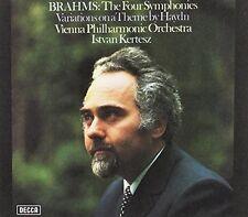 Brahms / Istvan Kert - Brahms: Four Symphonies / Variations On A Theme By [New S