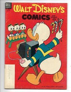 Walt Disney's Comics & Stories 159 F+ (6.5) 12/53 Barks art! Very Funny Stuff!