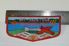 Boy Scout OA 1991 ZIT-KALA-SHA 123 CONCLAVE HOST PATCH WWW Flap Patch BSA