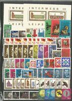 DDR   1965 gestempelt   kompletter Jahrgang mit allen Einzelmarken
