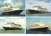 4  POSTCARDS  HOLLAND AMERICA CRUISE SHIPS   NO LONGER IN THE FLEET