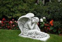42cm Deko Skulptur Design Figur Statue Garten Figuren Statuen Skulpturen S101142