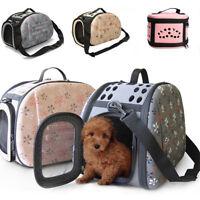 Pet Carrier Medium Large Cat / Dog Comfort Sapphire Blue Bag Travel Approved BE
