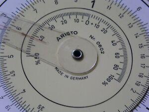 Rechenscheibe ARISTO Nr. 0602