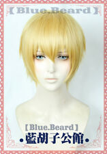 Fate/Zero Fate/stay night Gilgamesh Cosplay Wig Golden Short Party Hair +No.