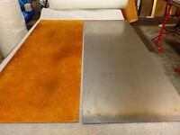 Corten Steel Sheet Natural Finish, 100mm x 100mm x 1.0mm thick