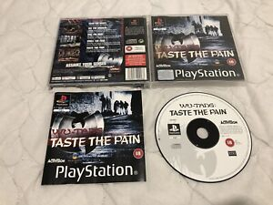 Wu Tang Taste The Pain Sony PlayStation 1 PS1 Game Complete with Manual Free P&P