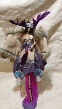 "Native American Indian Princess porcelain doll 17"""