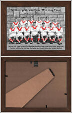 """ST GEORGE DRAGONS PREMIERS 1965 """"HIGH DETAIL"""" TIMBER FRAMED CERAMIC TILE 6x8in"""