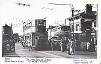 London Postcard - The Last Day of Trams at Abbey Wood, Greenwich & Bexley U696