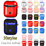 Sleeve Wrap Protective Skin TPU PC Case Cover Earphones Pouch For Apple AirPods
