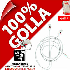 Golla Earbuds SuperBee In-Ear Headphones for Mobile Smart Phone MP3 iPod iPhone
