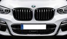 BMW Genuine Pair X3 X4 G01 G02 M Performance Black Kidney Grilles  8469959 / 960