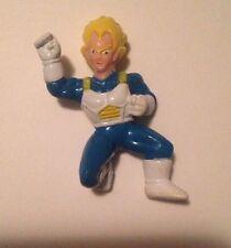 "1989 Dragonball Z PVC 1"" Mini Figure: Super Saiyan Vegeta-Kneeling"