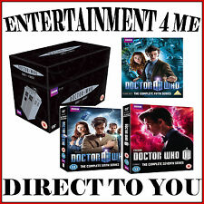 DOCTOR WHO - COMPLETE SERIES 1 2 3 4 5 6 & 7  COLLECTION *BRAND NEW DVD**