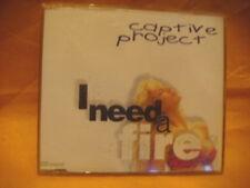 MAXI Single CD CAPTIVE PROJECT I Need A Fire 5TR 1995 eurodance