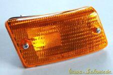 VESPA Blinker komplett - Hinten links - Gelb - PK XL XL2 - Blinkerglas Orange